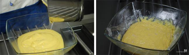 fasi di preparazione ricetta crema pasticcera