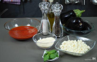 ingredienti melanzane alla parmigiana