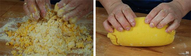 Lavorazione ricetta pasta frolla