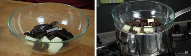 Procedimento ricetta torta al cioccolato