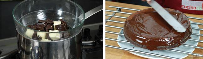 Glassa per ricetta torta al cioccolato