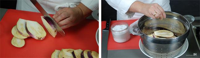 Ricetta pasta alla norma - Preparazione melanzane