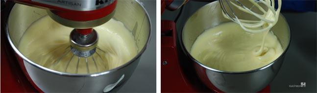 Pan di spagna, impasto ingredienti