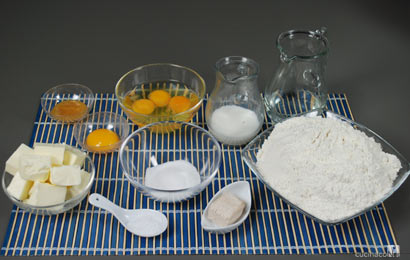 Ingredienti pan brioche